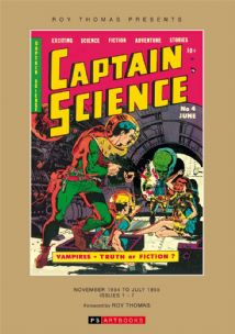 Roy Thomas Presents… Captain Science